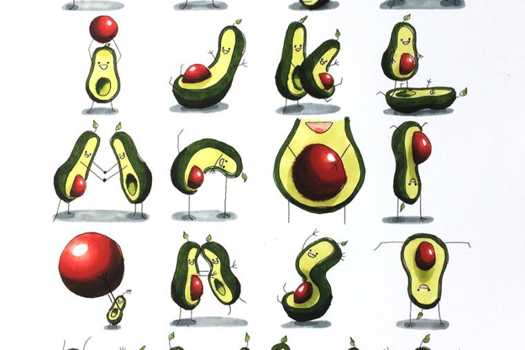 TF_Avacado_Alphabet Poster_7082_Small
